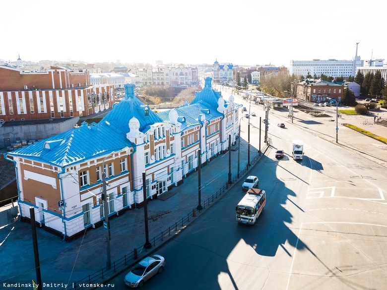 Участок площади Ленина в Томске «оденут» в гранит в 2020г