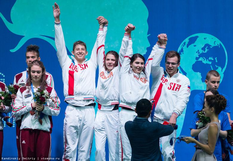 Сборная РФ завоевала 7 медалей в первый день первенства мира по плаванию в ластах в Томске