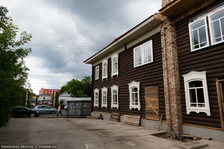 Дом на Пушкина, 5, летом 2018 года