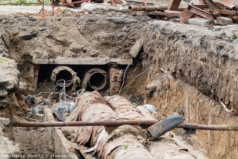Более 500 раскопок теплосетей и водопроводов в Томске остаются открытыми