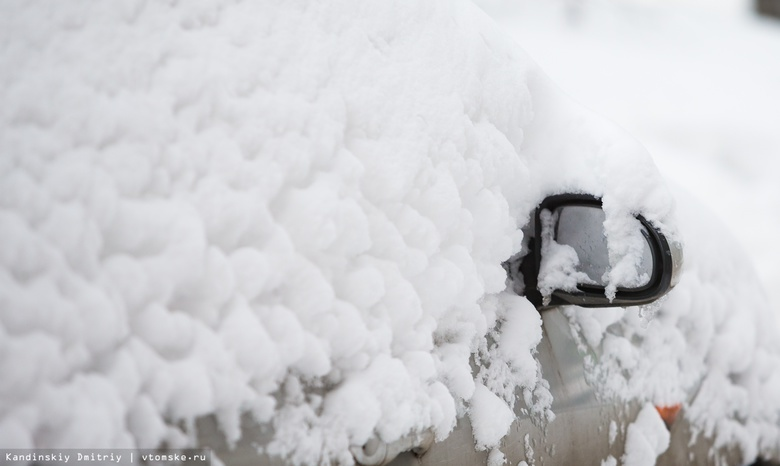 Синоптики предупреждают томичей о сильном снеге и ветре в пятницу