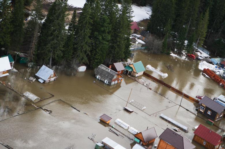 В Томске подтоплено уже 40 домов