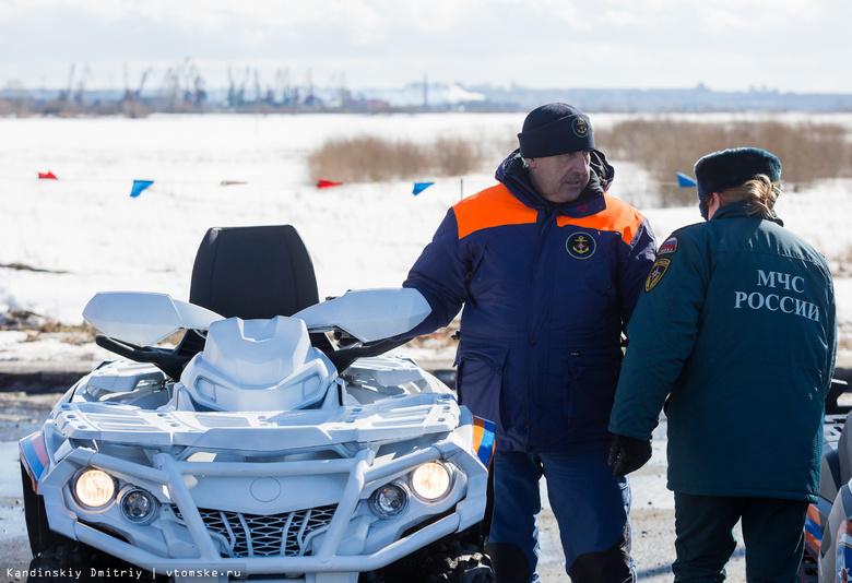 Отряд МЧС из 40 спасателей уехал в 2 томских райцентра для борьбы с подтоплениями