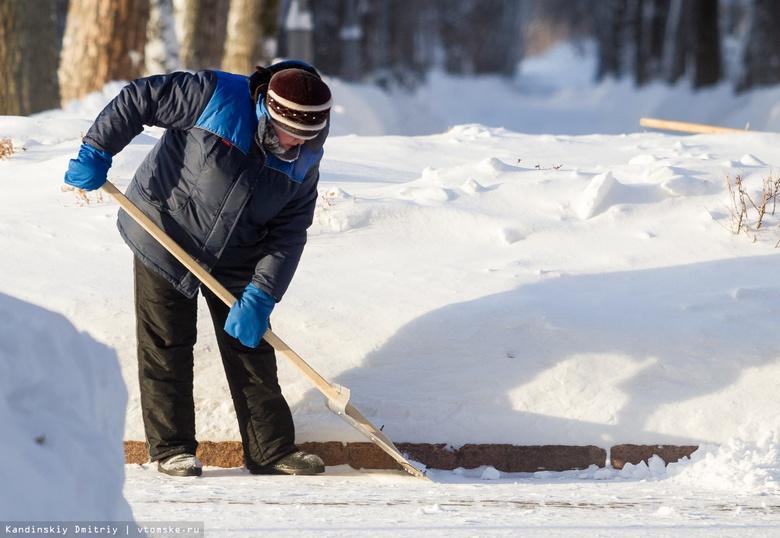 Кляйн рассказал, какие есть сложности с уборкой снега в Томске