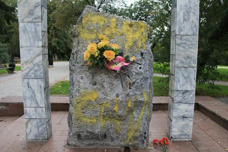 Директор музея НКВД: проблема охраны сквера у Камня скорби поднималась не раз
