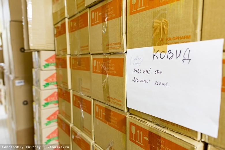 Томская область получит еще 11 млн руб на бесплатные лекарства для лечения COVID-19