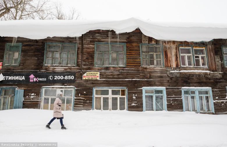 Более 200 предписаний по очистке крыш выписали власти Томска