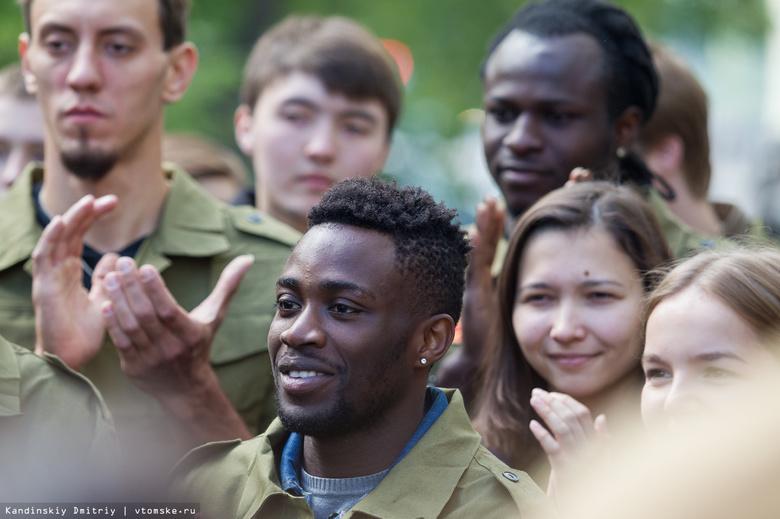 Более 18 % студентов томских вузов являются иностранцами