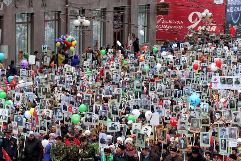УМВД: почти 135 тысяч томичей приняли участие в праздновании Дня Победы