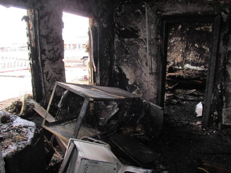 Житель Томской области, поругавшись со знакомой, поджег ее дом