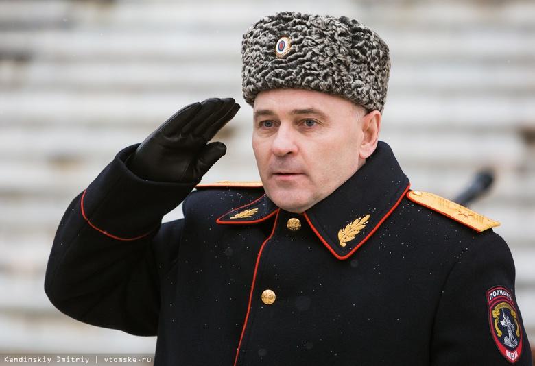 Александр Будник покинул пост главы томского УМВД