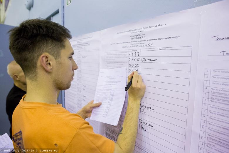 QR-коды ускорят получение итогов выборов губернатора Томской области в 2 раза