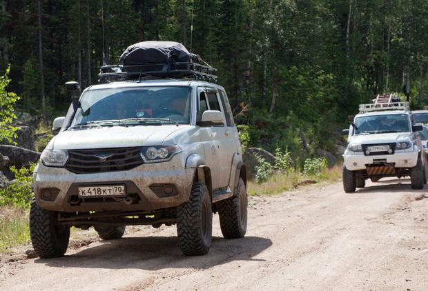 Томичи составят из автомобилей слово «Россия» в поддержку олимпийцев