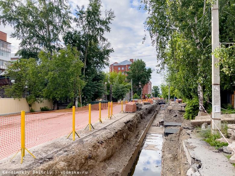 Более 1,1 тыс раскопок остаются открытыми в Томске