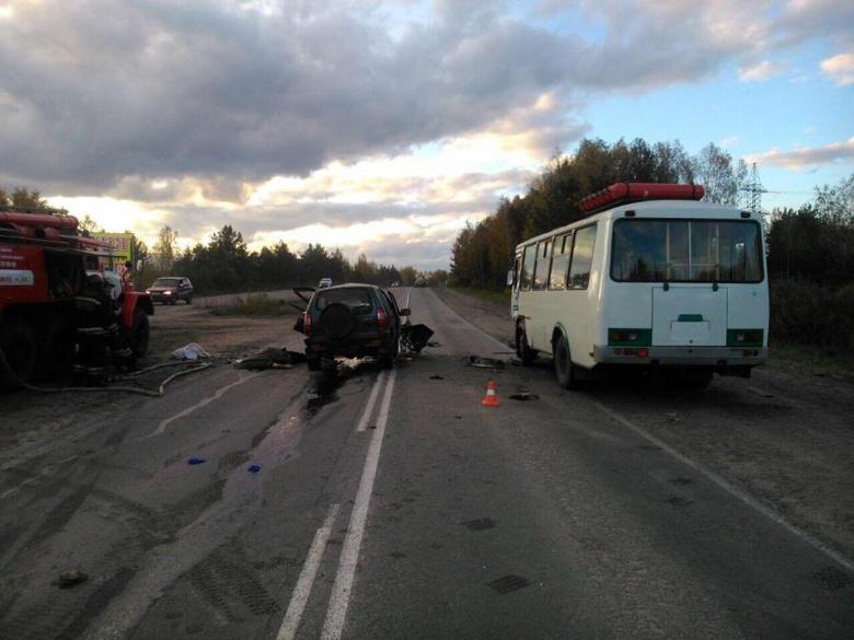 ГИБДД ищет очевидцев смертельного ДТП с автобусом и Chevrolet в Томске