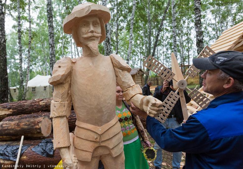 Томский «Праздник топора» планируют посетить мастера из Японии, Мозамбика и Ганы