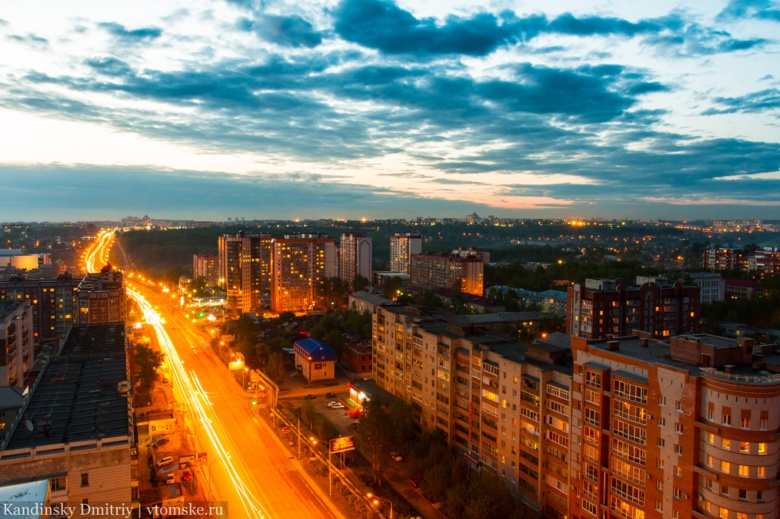 «Горсети» получат 409 млн руб на освещение Томска до 2022г