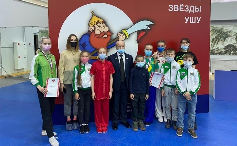 Томские спортсмены удостоены 17 наград всероссийского турнира по ушу