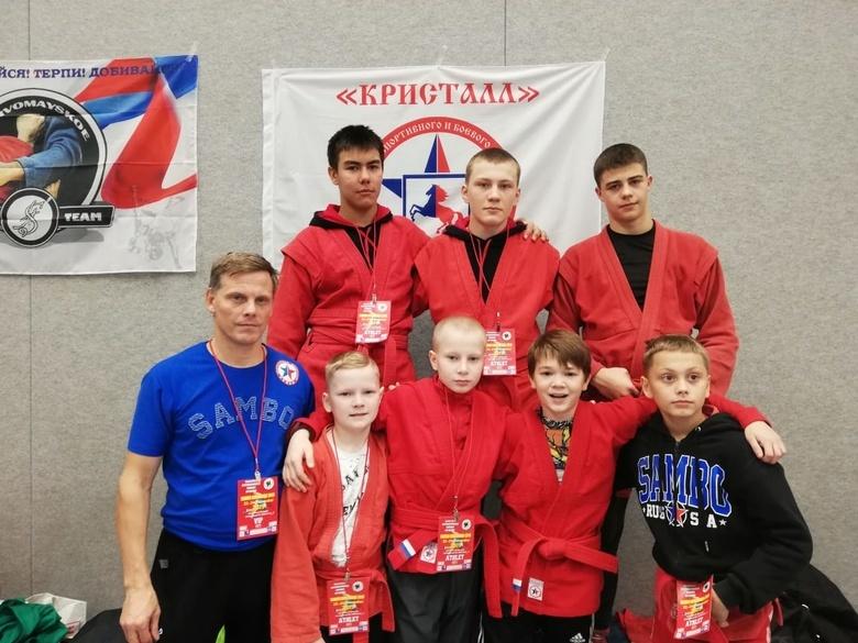 Томичи стали призерами международного турнира по самбо