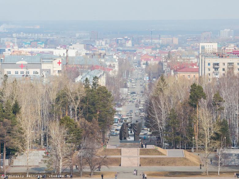 Мэр Томска поручил завершить монтаж светильников в Лагерном саду к 7 мая
