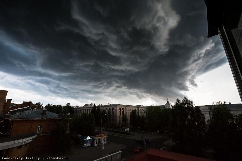 Штормовое предупреждение объявлено по Томской области на 27 июля