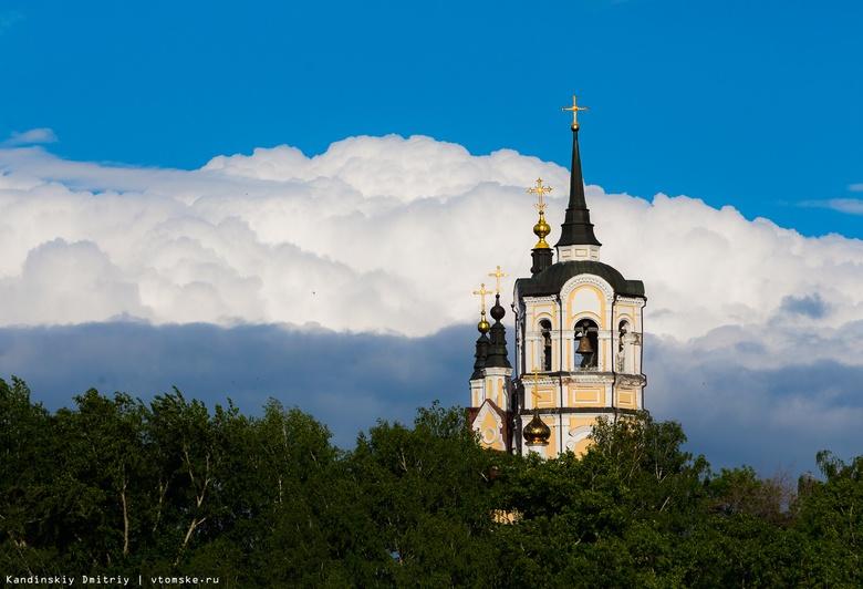 В Воскресенской церкви Томска возобновились работы по росписи стен храма