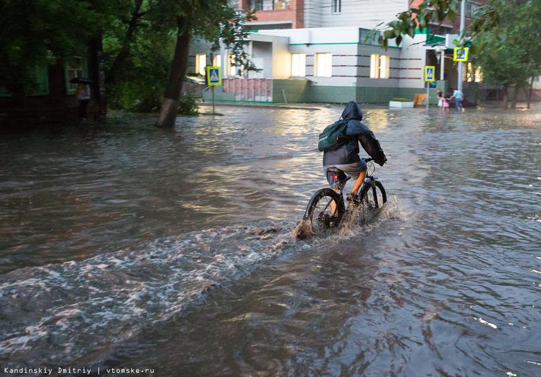 Синоптик: в четверг в Томске выпала двойная суточная норма осадков