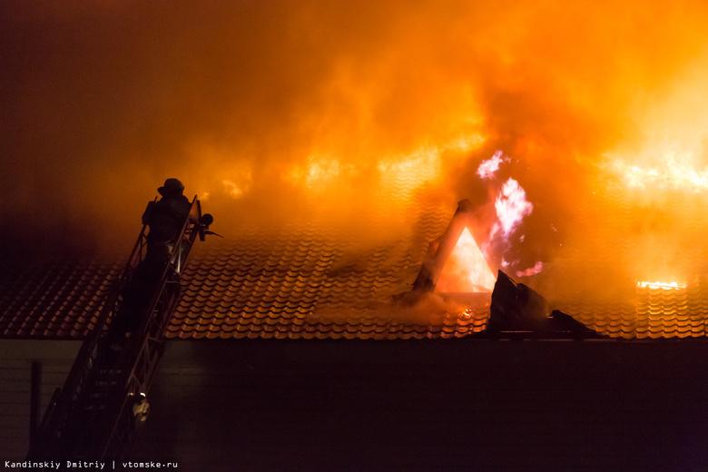 Удар молнии мог стать причиной пожара в здании «АртЛайфа» в Томске