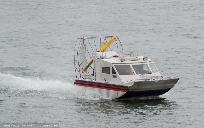 Инспекторы ГИМС спасли томичей из запутавшейся в сетях лодки