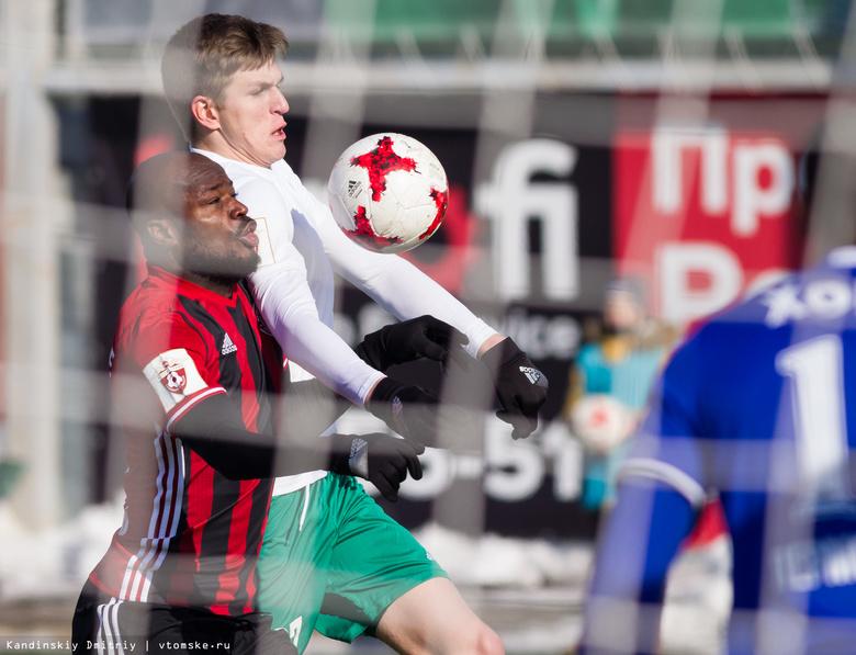 «Томь» обыграла «Амкар» в первой домашней игре весенней части РФПЛ