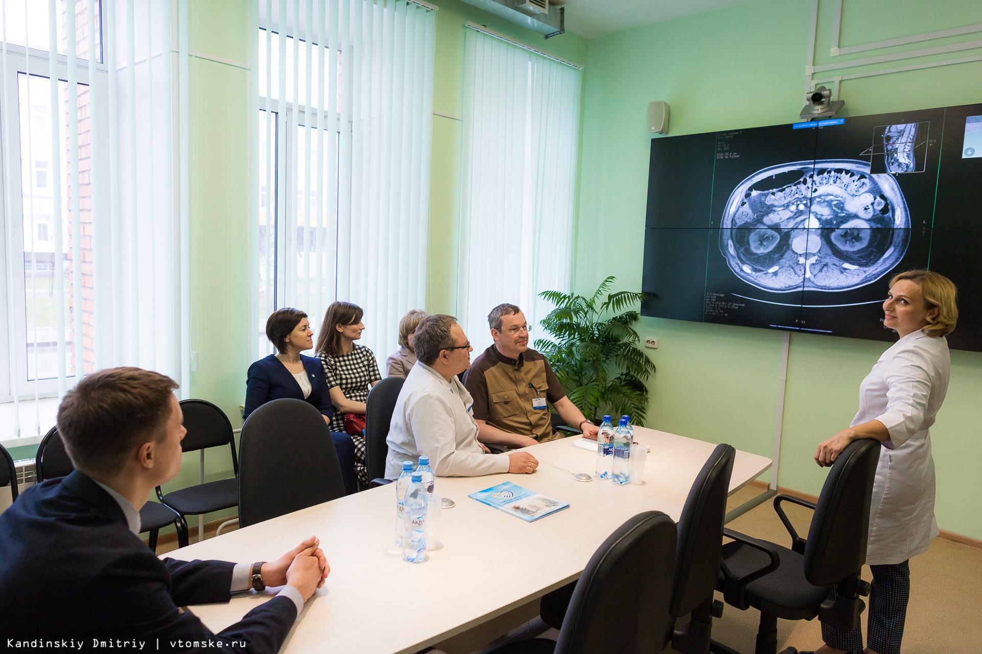 Новый центр ОКБ поможет жителям Томской области быстрее получать медпомощь