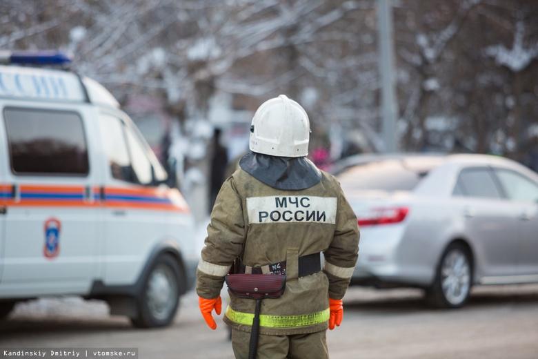 Пятнадцать детей эвакуировали из-за возгорания в томском спортцентре на Ленина