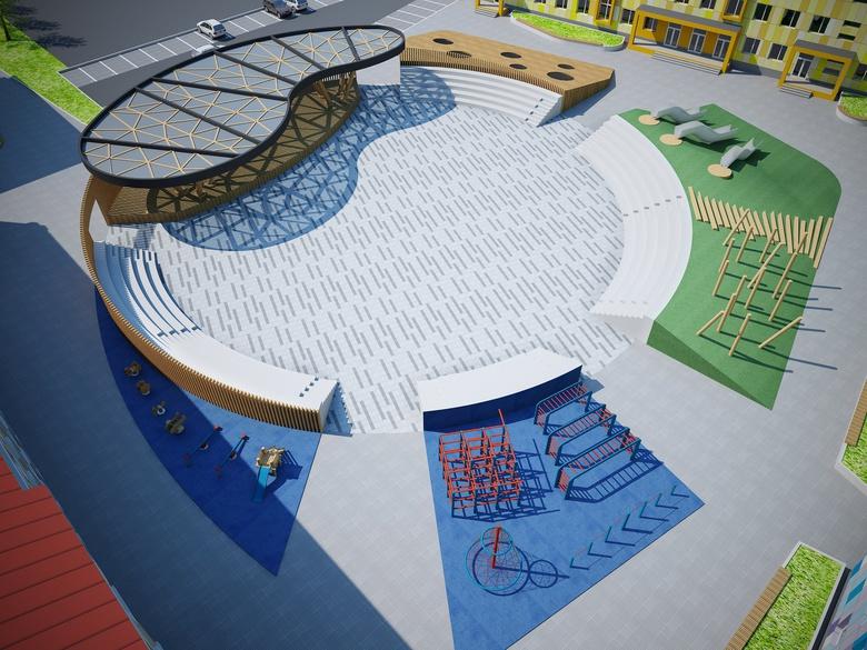 Архитекторы показали, как будет выглядеть детский центр допобразования на Никитина