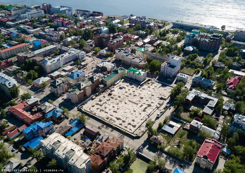 Власти Томска выдали разрешение на строительство ТЦ возле ГУМа