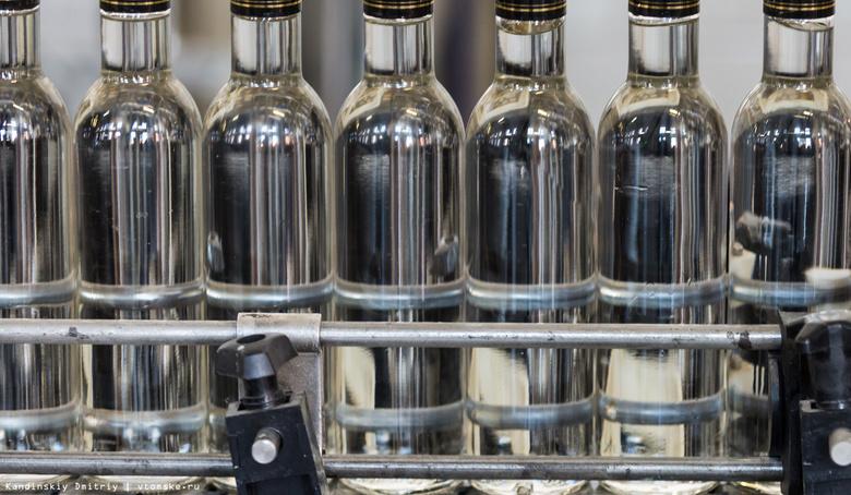 За 2016 год в Томской области продано более 10 млн бутылок водки
