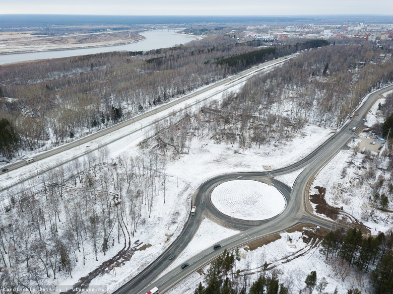 Власти Томска ожидают в 2018г более 300 млн из госбюджета на развязку в районе Мокрушина