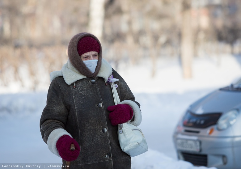 Почти 8 тыс человек в Томской области заболели гриппом и ОРВИ за неделю
