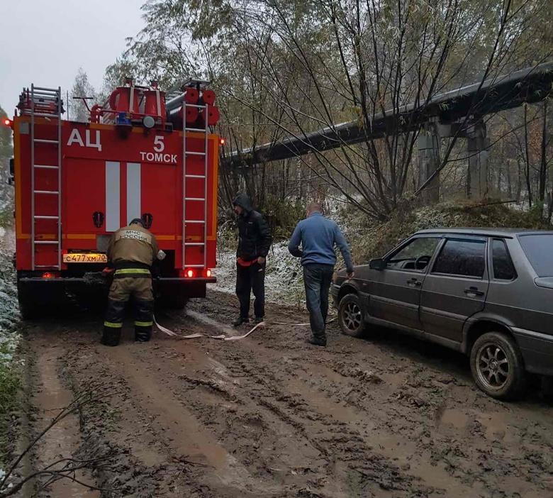 Пожарные помогли глухонемым томичам выбраться из леса благодаря сурдопереводчику