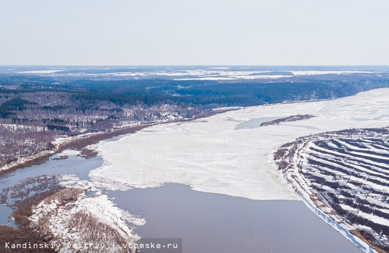 Ледяные заторы на Томи планируют подорвать для продвижения ледохода