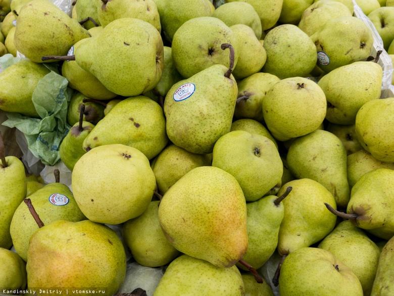 Почти 30 кг санкционных груш из Польши изъяли в томском магазине и уничтожили