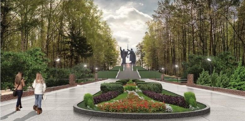 Мемориал в Лагерном саду Томска благоустроят к годовщине победы в ВОВ