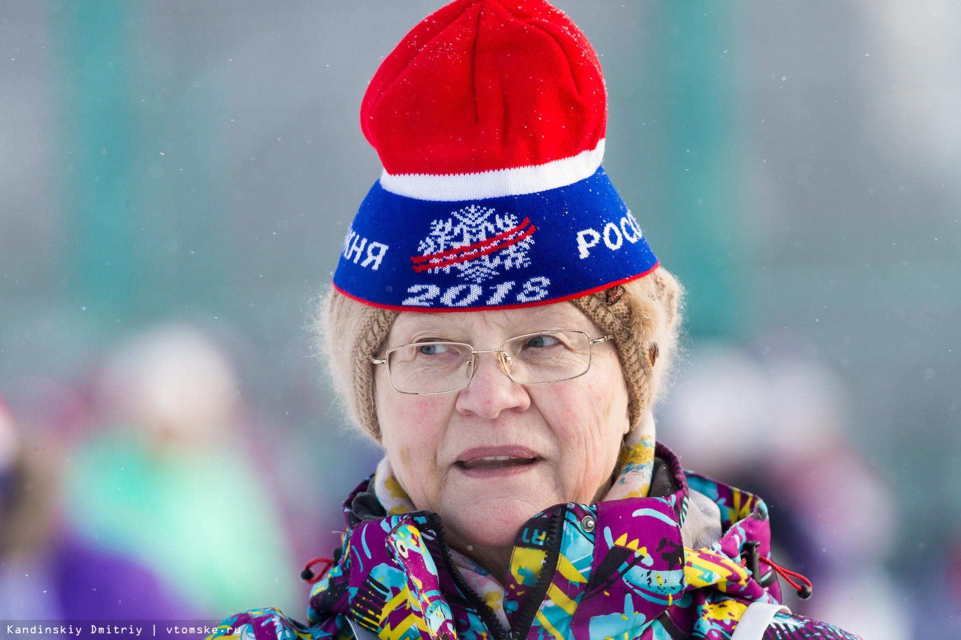 Выиграть гонку: почти 3 тыс томичей вышли на «Лыжню России-2018»