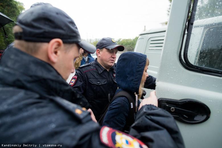 Главу томского штаба Навального после митинга оставили ночевать в РОВД