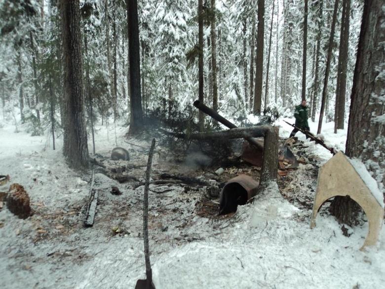 Двое стрежевчан погибли при пожаре в охотничьей избе