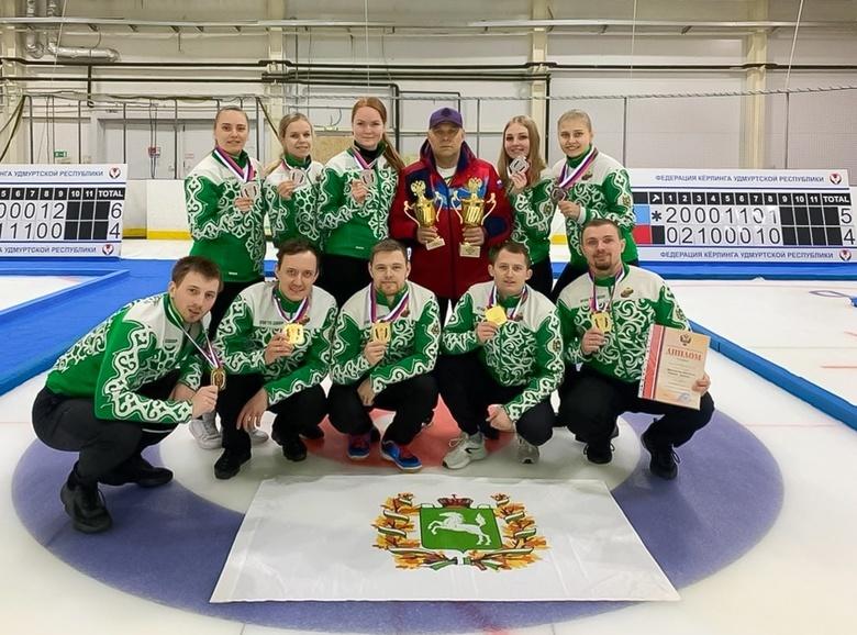 Томичи привезли золото и серебро с чемпионата России по керлингу