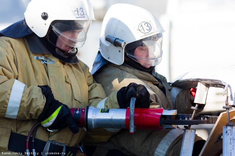 Счет на секунды: лучших в ликвидации ДТП пожарных выбрали в Томске