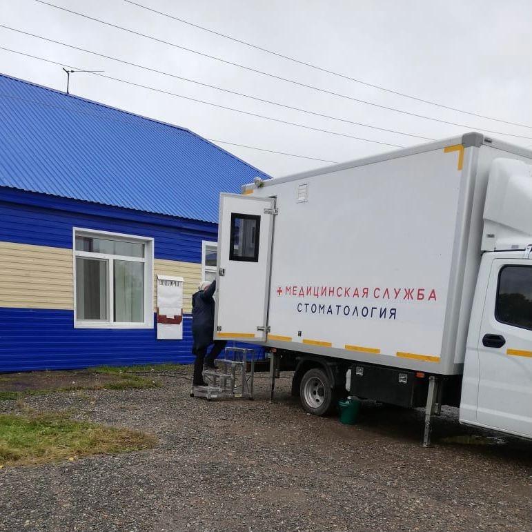 «Стоматология на колесах» появилась в Томской области