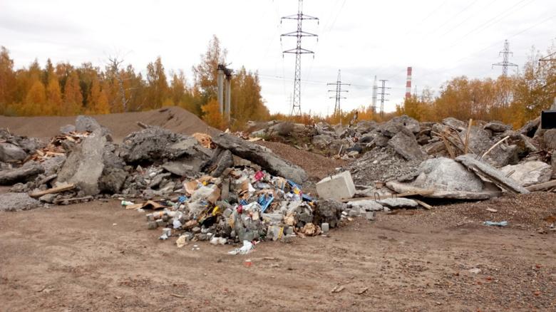 Прокуратура требует от мэрии убрать нелегальную свалку в Томске (фото)