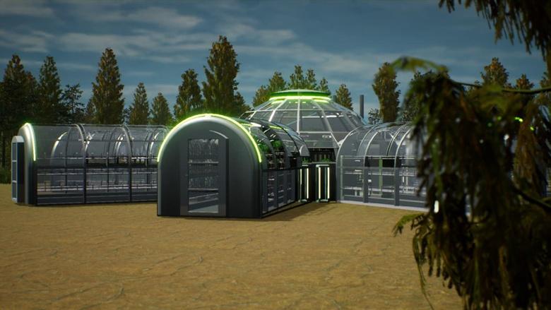 Десять команд вышли в финал конкурса Urban Greenhouse. Они сделали проекты сити-ферм