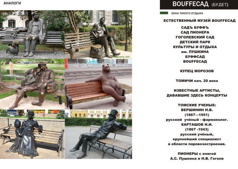 Сцену, фуд-корт и новые детские площадки предлагают сделать в Буфф-саду Томска